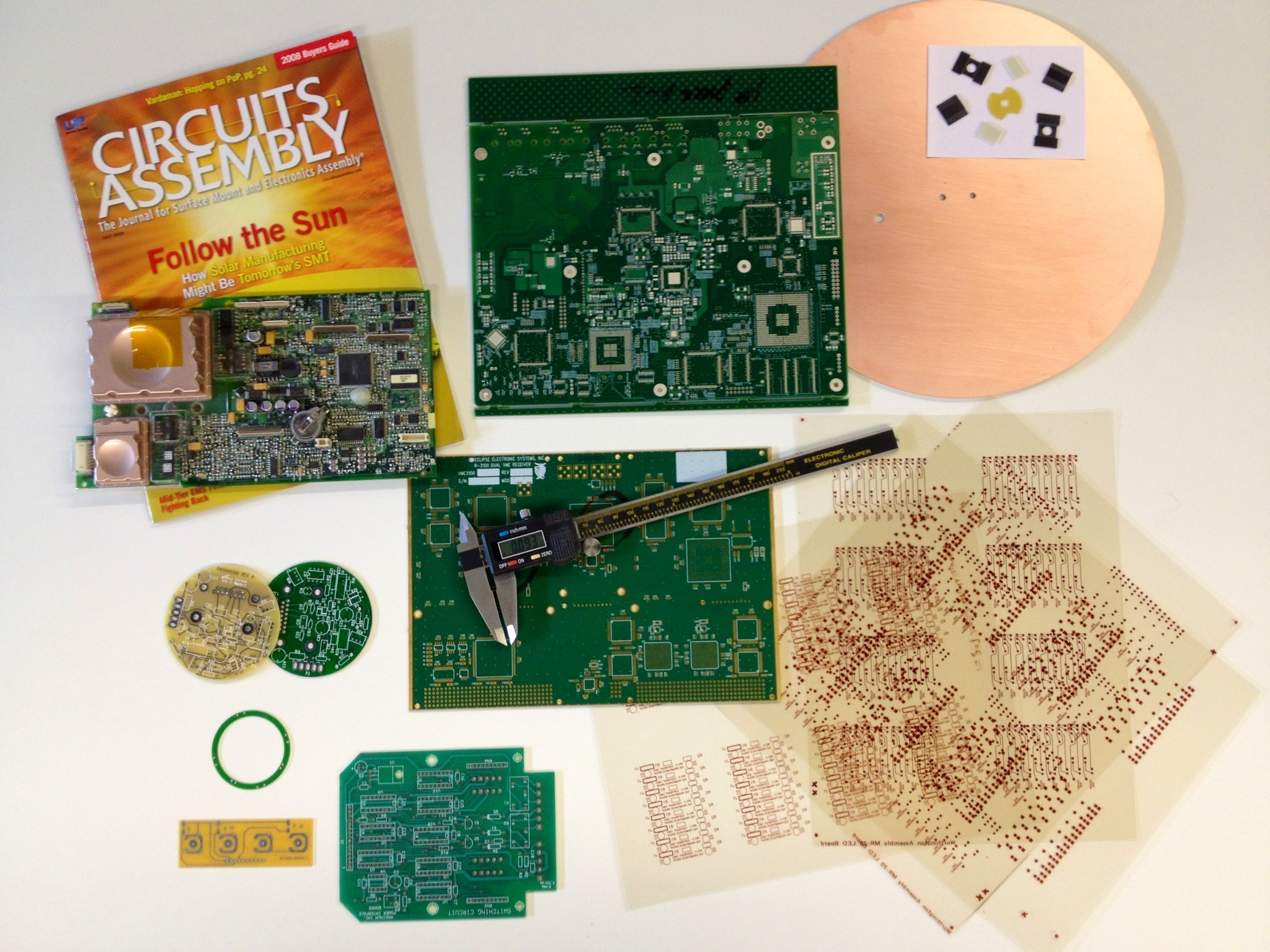 Aci Pcb Inc Printed Circuit Boards As Before We Can Copy The Onto A Board And Specialty Parts Additive Circuitry Modification